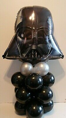 STAR WARS DARTH VADER FOIL BALLOON TABLE DISPLAY BIRTHDAY PARTY  AIR FILL ONLY