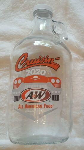 NEW!! A&W 2020 Collector 1/2 Gallon Glass Jug  - Cruisin