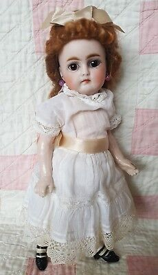 """10"""" RARE ANTIQUE EARLY GERMAN KESTNER MARKED 192 BISQUE HEAD W/CLOSED MOUTH"""