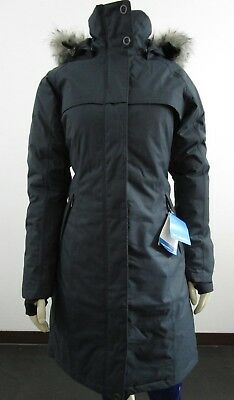 - Womens Columbia Flurry Run Down Insulated Warm Winter Fashion Hooded Jacket