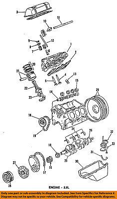 GM OEM-Engine Crankshaft Crank Seal 12592195