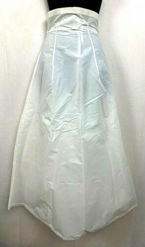 Vintage Merry Modes Womens Petticoat Slip Bridal Wedding Tulle 3 Layer Skirt XS