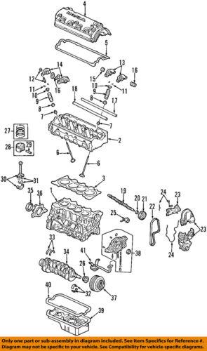 Honda OEM 96-05 cívico-Motor Junta De Cárter De Aceite 11251P2A014 | eBay | 2005 Honda Civic Engine Diagram |  | eBay