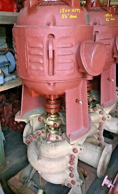 Gardner-denver 8x6 Pump Usn Ballast Vertical Const Bronze Cases 30hp Id446
