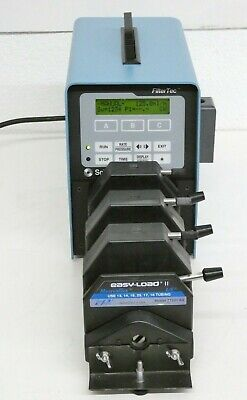 Scilog Peristaltic Pump W 3 Masterflex Easy-load Ii Pump Heads 77201-60