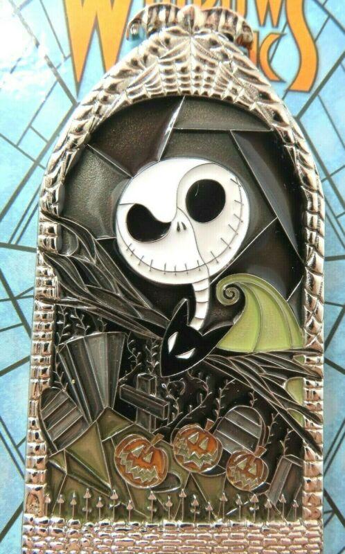 Disney Pin DLR – Windows of Magic – Jack Skellington LE 2000 #139756