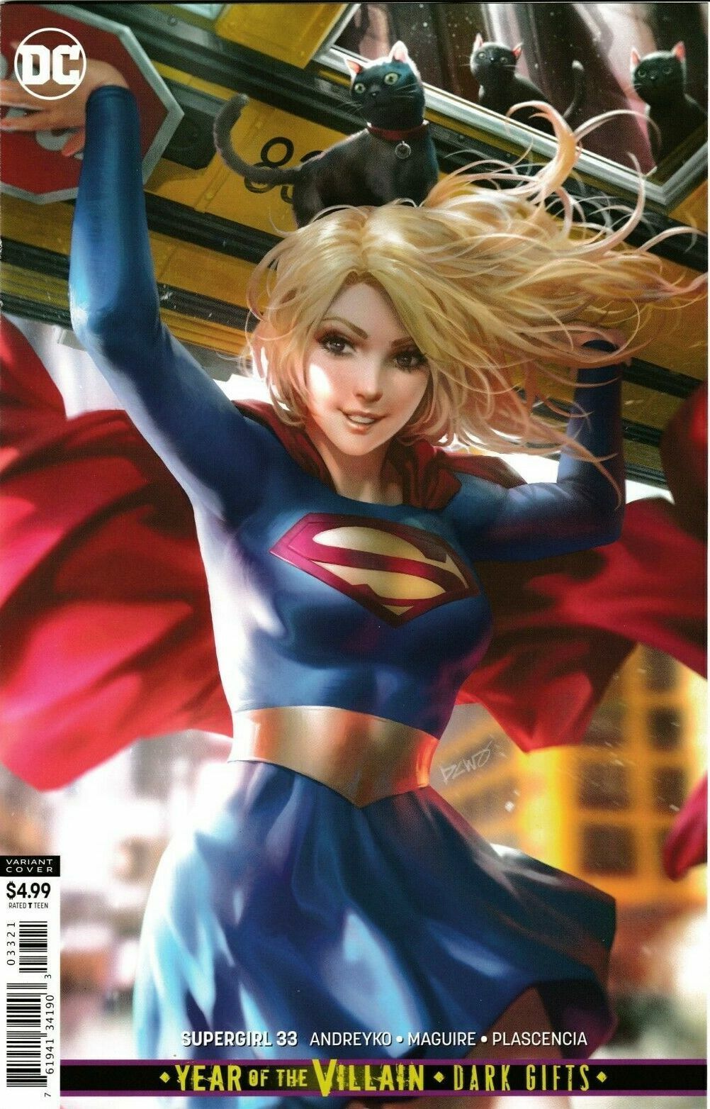 Superman #14  Year Of The Villain Legion Of Super-Heroes Recalled Comic NM