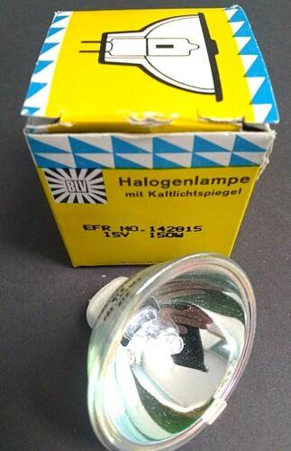 BLV Halogenlampe Replacement Halogen Lamp Bulb EFR No. 142815 150W 15V NOS