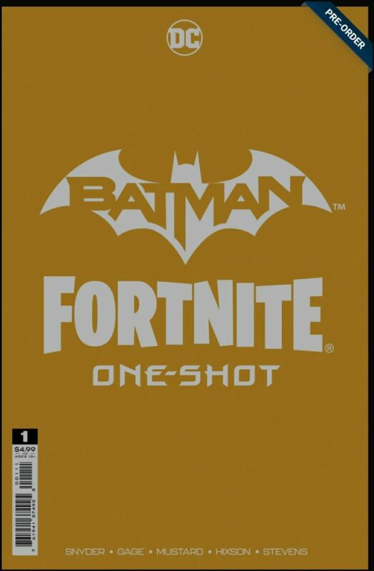 Batman/Fortnite One-Shot Main Cover A (Includes game code)- Available 10/27
