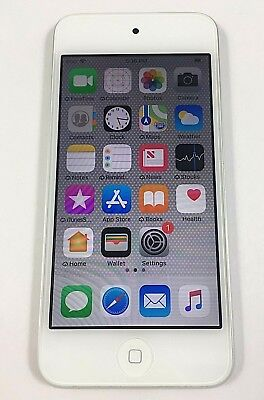 Apple iPod touch 6th Generation Silver (64 GB) Fully Functional  PLEASE READ