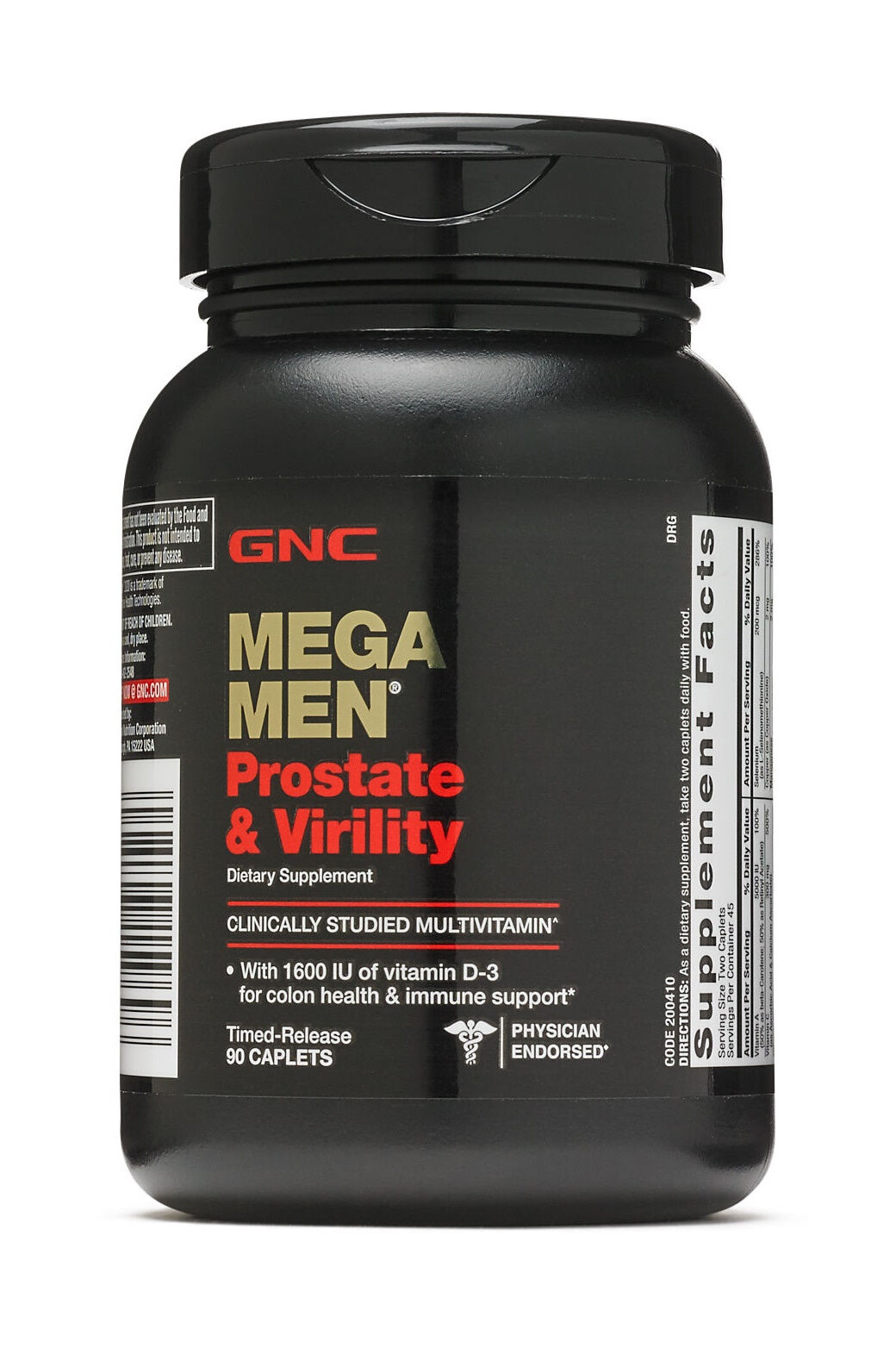 Купить New GNC Mega Men Prostate and Virility 90 Caplets Free Shipping EXP 03/2020