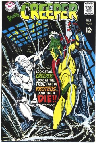 BEWARE THE CREEPER #5 VF, Steve Ditko c/a, DC Comics 1969