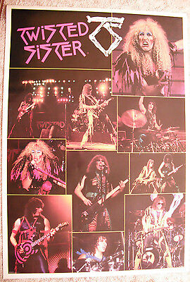Twisted Sister Huge 1984 Poster One Stop Brand New Condition Dee Snyder