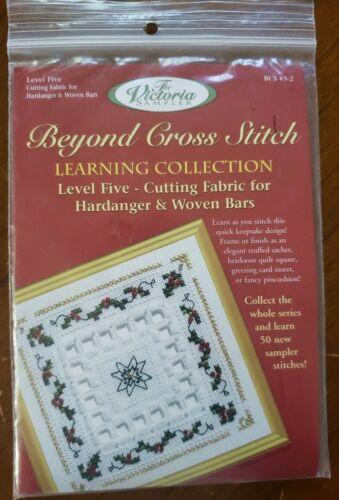 Beyond Cross Stitch KIT Level 5 - Cutting Fabric for Hardanger & Woven Bars Xmas