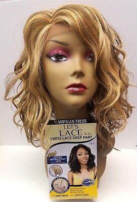 Motown Tress LET'S Lace Swiss Lace Deep Part Wig  *LSDP-NICO* -  DX27/24/4 - Motown Tress Lace Wig