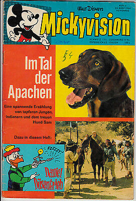Mickyvision ab 1962 :Jg. 1964 Nr. 4 (2-3) befriedigender Zustand BARKS