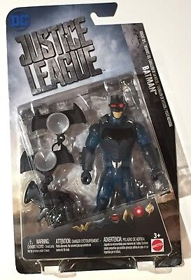DC Justice League - Batman Mattel 2017 Action Figure w/ Zip Line Gear