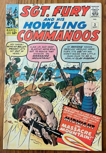 Sgt Fury and his Howling Commandos 3, Reed Richards x-over