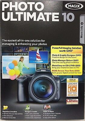 Magix Photo Ultimate 10 - Photo & Graphic Designer+photo ...
