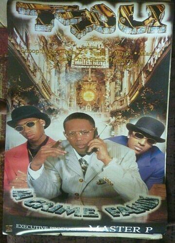 RARE TRU DA CRIME FAMILY MASTER P 1999 VINTAGE ORIG RAP MUSIC STORE PROMO POSTER