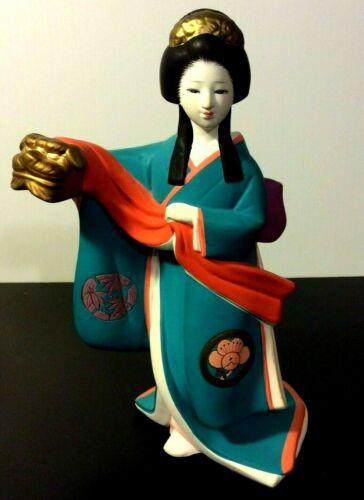 Hamilton Collection The Art of Kabuki FEMALE LION DANCER Figurine 1596/19,800