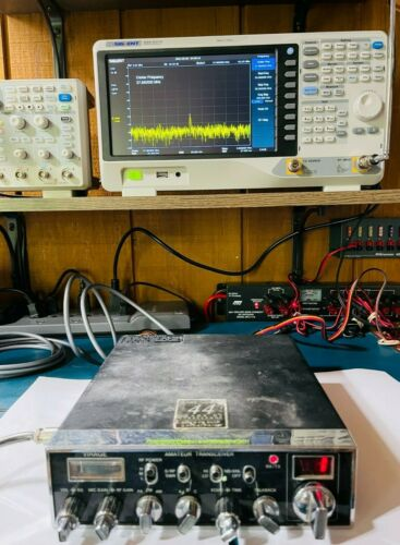 TESTED VIRAGE VX-38 AMATEUR HAM CB TRANSCEIVER AM & FM MODES