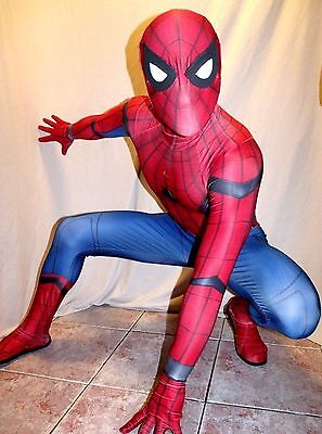 The Civil War Homecoming Spider-Man 3D Printing with Muscle Shading Costume - Spiderman Civil War Costume