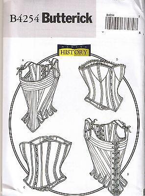 Renaissance Schnürschuhe Verstärktes Stays Korsetts Bustier Kostüm Nähen (Kostüme Renaissance Muster)