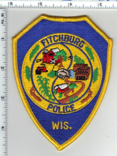 Fitchburg Police (Wisconsin) 1st Issue Shoulder Patch
