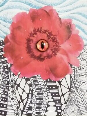 Bloom. Mixed Media Surrealistic Collage