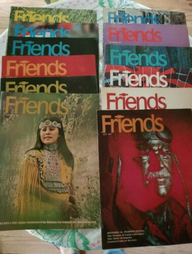 1971 FRIENDS Magazine Chevrolet Dealer Giveaway Magazine Complete Year 12 issues