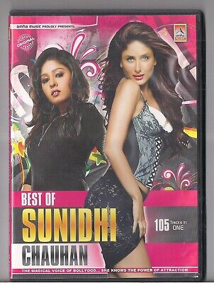 Best Of Sunidhi Chauhan 105 Tracks On One Bollywood DVD MUST HAVE (Best Of Sunidhi Chauhan)