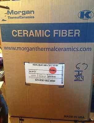 Kaowool Ceramic Fiber Insulating Blanket Roll 12x 24x 50 8 -morgan Thermal