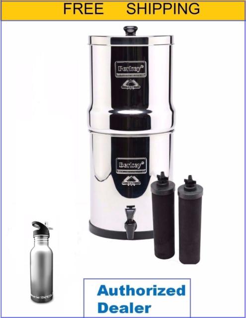royal berkey water filter. Beautiful Berkey Royal Berkey Water Filter Purify W 2 Black Filters  Free Stainess Steel  Bottle In