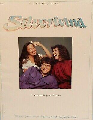 Silverwind / Silverwind Music Book Guitar Vocal Piano Tab Christian Christian Bass Guitar