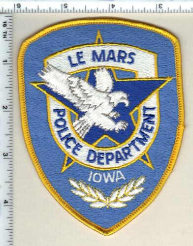 Le Mars Police (Iowa)  Shoulder Patch - new from 1990
