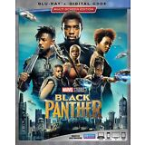 BLACK PANTHER(BLU-RAY+DIGITAL HD)WITH SLIP COVER NEW