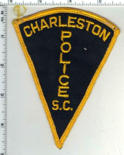 Charleston Police (South Carolina) 1st Issue Uniform Take-off Patch
