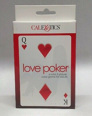 Love Poker A Wild 2 Player Card Game Adult Oversized AVN Winner Best Couple (Best Couple Card Games)