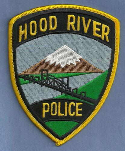 HOOD RIVER OREGON POLICE SHOULDER PATCH