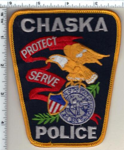 Chaska Police (Minnesota)  Shoulder Patch new 1992