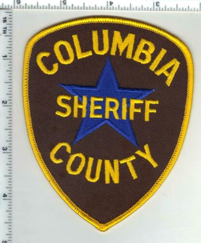 Columbia County Sheriff (Arkansas) 1st Issue Shoulder Patch Dark Blue Star
