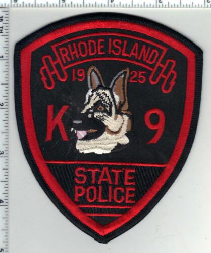 State Police (Rhode Island) 1st Issue K-9 Shoulder Patch
