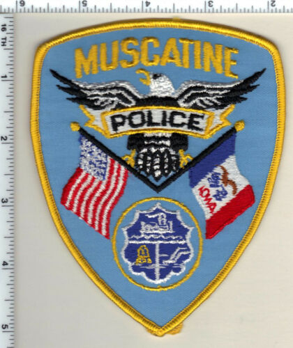 Muscatine Police (Iowa)  Shoulder Patch - new from 1992