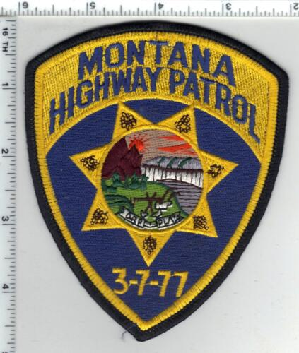 Montana Highway Patrol 2nd Issue Shoulder Patch