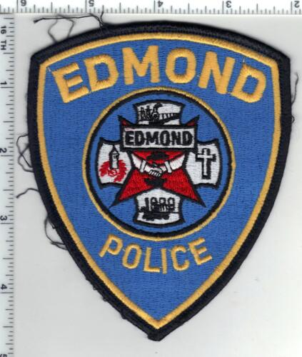 Edmond Police (Oklahoma) Uniform Take-Off Shoulder Patch from the 1980