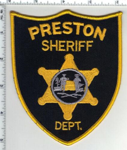 Preston Sheriff Dept. (West Virginia) 1st Issue Shoulder Patch