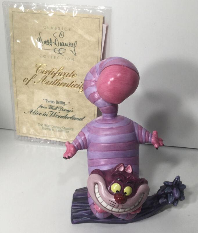 Disney Classics 1994 Membership Figurine Scuplture Cheshire Cat Alice Wonderland