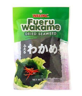 Wel-Pac - Fueru Wakame (Dried Seaweed) Net Wt. 2 Oz. (Dried Seaweed)