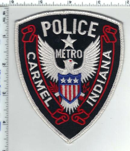 Carmel Metro Police (Indiana)  Shoulder Patch - new from the 1980s